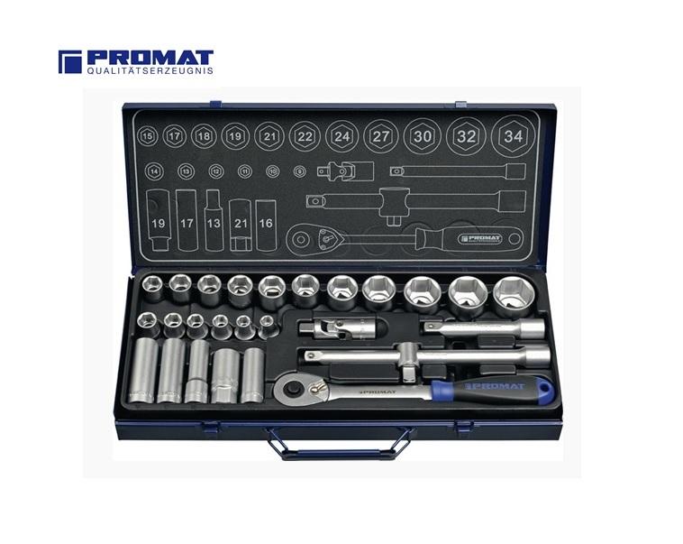 Dopsleutelset 27 Delig 1 2   DKMTools - DKM Tools