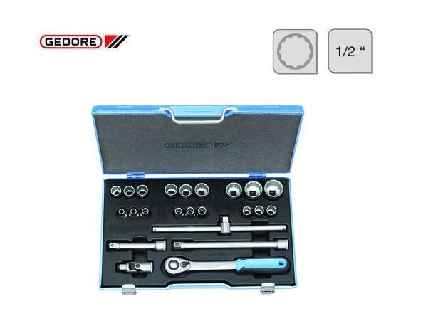 Gedore D 19 EMU 20 Dopsleutelset   DKMTools - DKM Tools