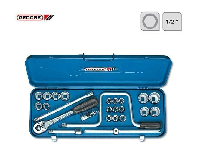 Gedore D 19 TMU 10 Dopsleutelset | DKMTools - DKM Tools