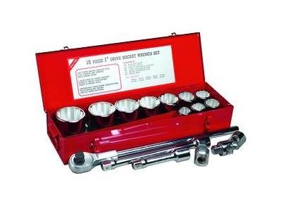 Dopsleutelset 12 kant 1 inch | DKMTools - DKM Tools