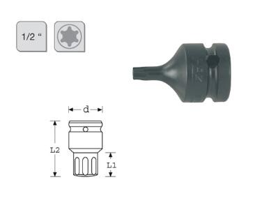 TORX Slagmoerdopsleutel   DKMTools - DKM Tools