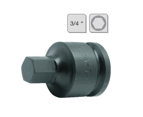 Slagmoerdopsleutel binnenzeskant   DKMTools - DKM Tools