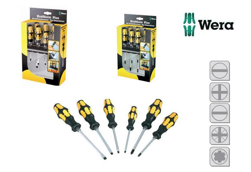 Wera Schroevendraaierset 6 delig   DKMTools - DKM Tools