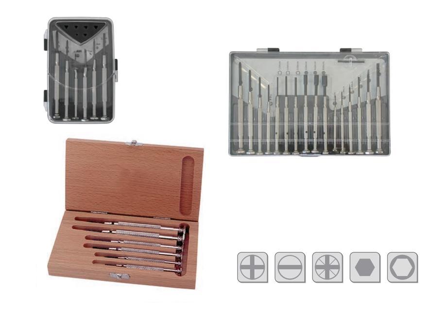 Horlogemakers schroevendraaiersets   DKMTools - DKM Tools