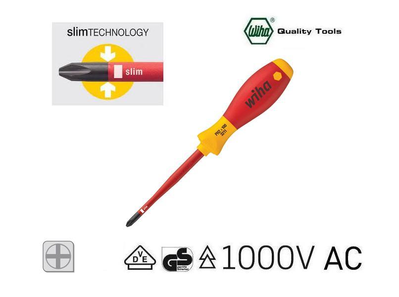 Wiha 3211 Slimfix VDE Phillips schroevendraaier | DKMTools - DKM Tools