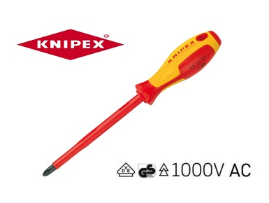 Knipex VDE Phillips schroevendraaier 98 24 | DKMTools - DKM Tools