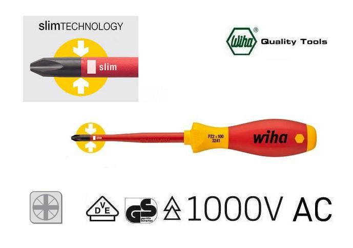 Wiha 3241 Slimfix VDE Pozidriv schroevendraaier | DKMTools - DKM Tools