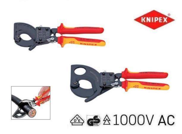 Knipex VDE kabelsnijder ratel | DKMTools - DKM Tools