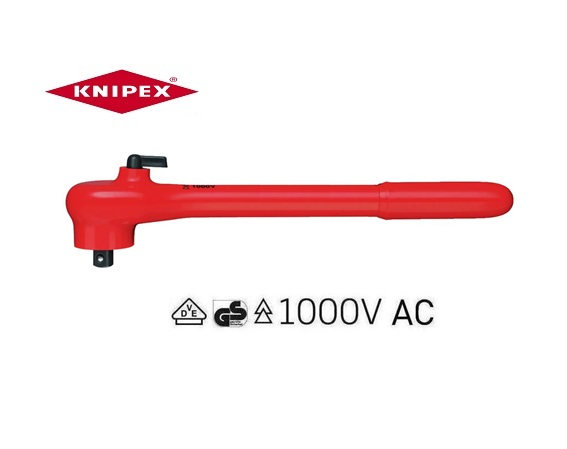 Knipex VDE Omschakelbare ratel | DKMTools - DKM Tools