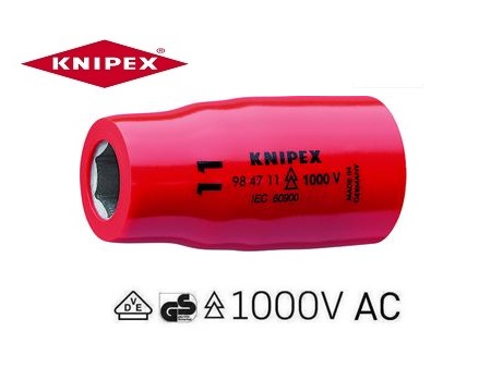 Knipex VDE Zeskant dopsleutels | DKMTools - DKM Tools