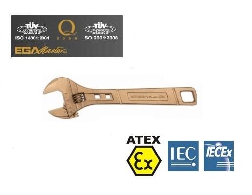 Vonkvrije verstelbare moersleutels Aluminium Brons   DKMTools - DKM Tools