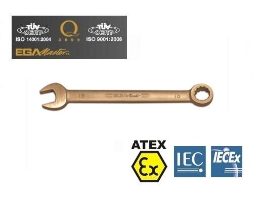 Vonkvrije ringsteeksleutels Brons Berylium metrisc | DKMTools - DKM Tools
