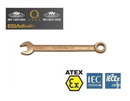 Vonkvrije ringsteeksleutels Aluminium Brons inches | DKMTools - DKM Tools