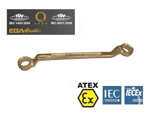 Vonkvrije dubbele ringsleutels Brons Berylium mm | DKMTools - DKM Tools