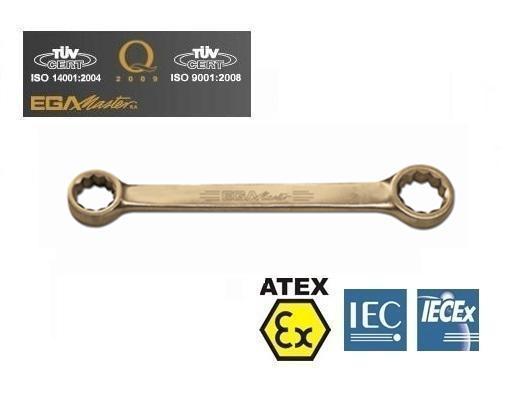 Vonkvrije platte ringsleutels Brons Berylium metri | DKMTools - DKM Tools