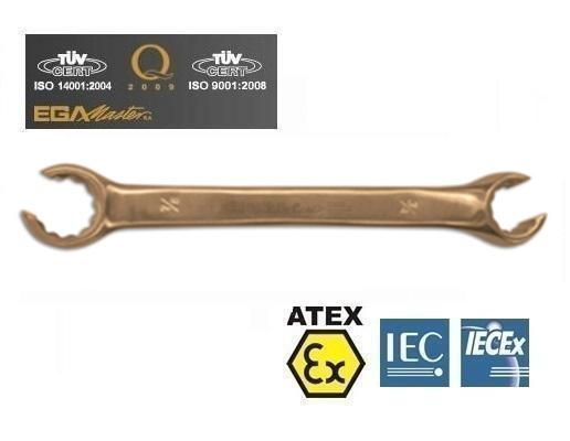Vonkvrije open ringsleutels Brons Berylium metrisc   DKMTools - DKM Tools