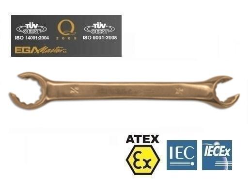 Vonkvrije open ringsleutels Aluminium Brons metr   DKMTools - DKM Tools