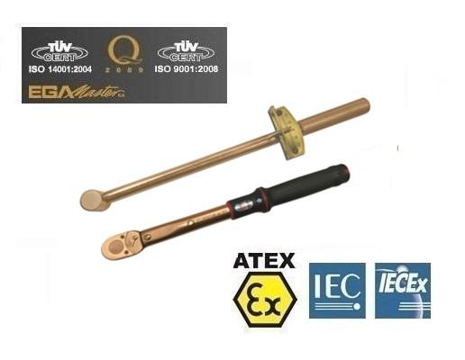 Vonkvrije momentsleutels Brons Berylium   DKMTools - DKM Tools
