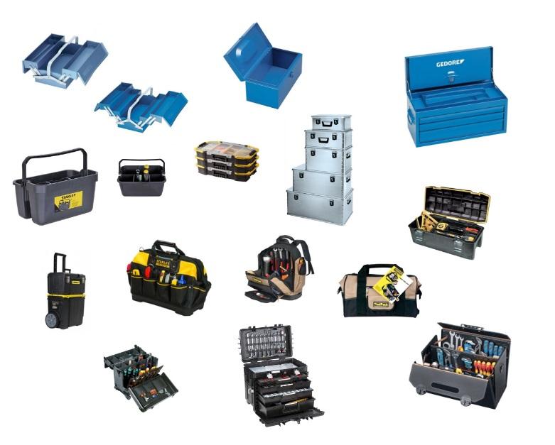 Gereedschapskoffers en tassen | DKMTools - DKM Tools