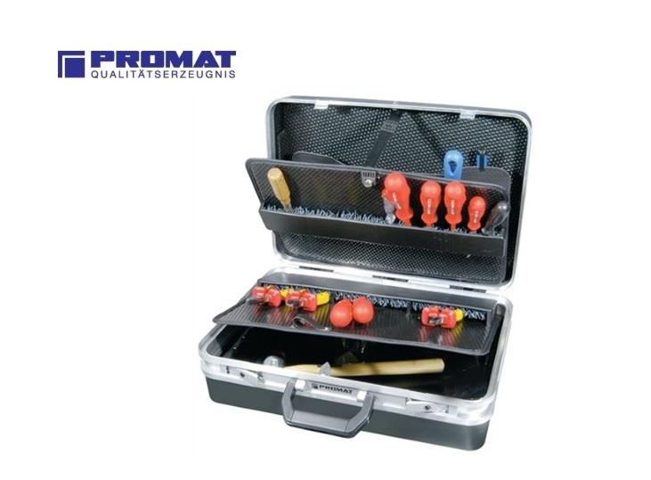 Zwarte servicekoffer ABS 460x180x310 | DKMTools - DKM Tools
