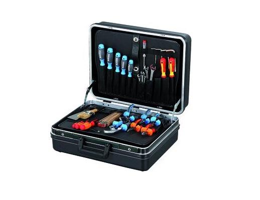 Zwarte servicekoffer ABS 470x180x360 | DKMTools - DKM Tools