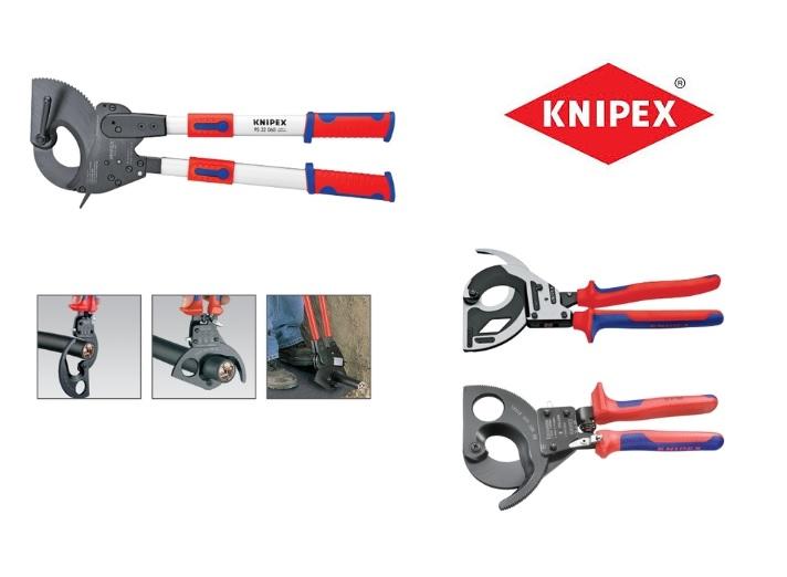 Knipex Kabelschaar ratelprincipe | DKMTools - DKM Tools