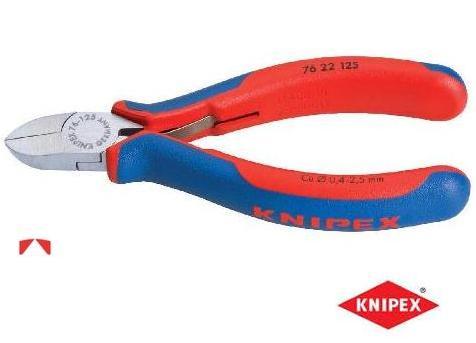 Elektronica zijsnijtang zonder facet Knipex | DKMTools - DKM Tools