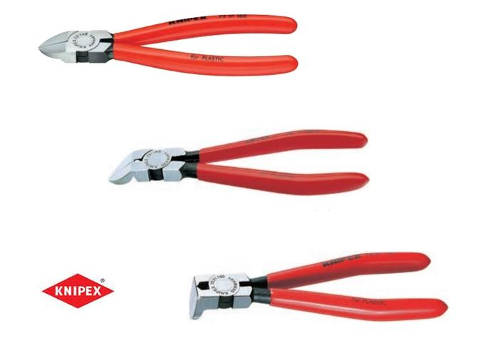 Zijsnijtang voor kunststof Knipex | DKMTools - DKM Tools