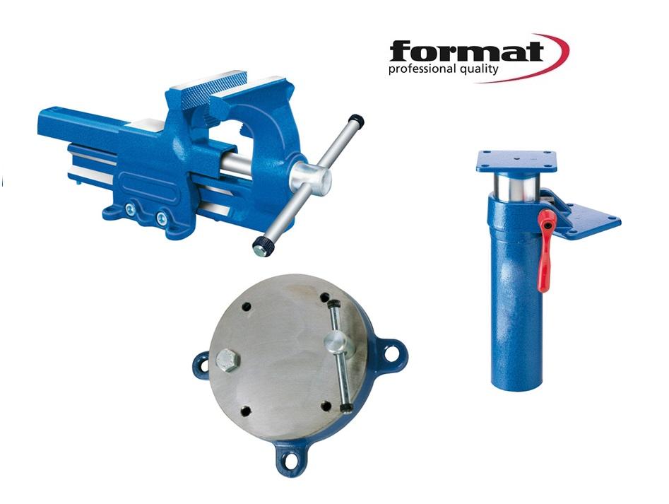 FORMAT Parallelbankschroef met aambeeldoppervlak | DKMTools - DKM Tools