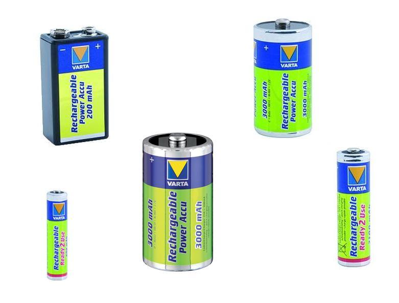 VARTA Oplaadbare batterijen | DKMTools - DKM Tools