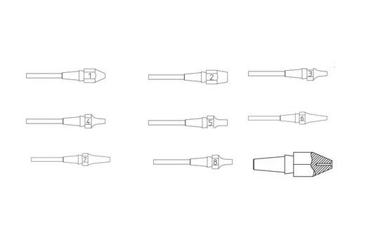 Weller desoldeernozzles XDS serie   DKMTools - DKM Tools