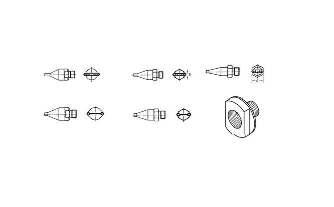 Weller hetelucht nozzles F serie | DKMTools - DKM Tools