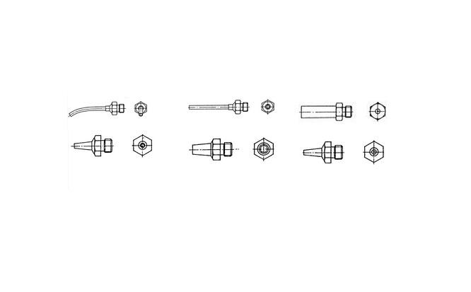 Weller hetelucht nozzles R serie   DKMTools - DKM Tools
