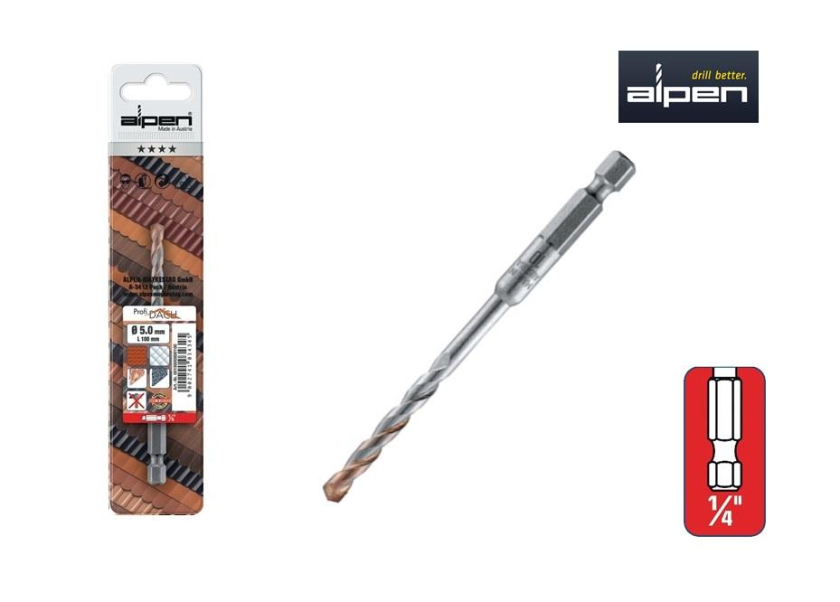 Dakpanboor 6 kant aansluiting Alpen | DKMTools - DKM Tools