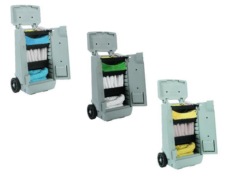 Absorptie Boxen en transportwagens | DKMTools - DKM Tools