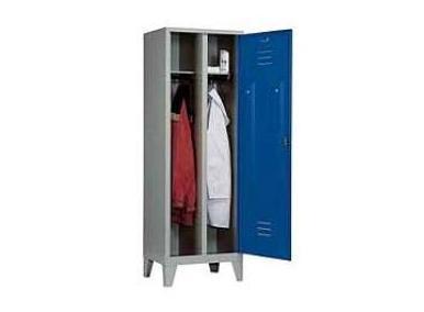 Garderobekast S 2000 Classic 2 compartimenten | DKMTools - DKM Tools