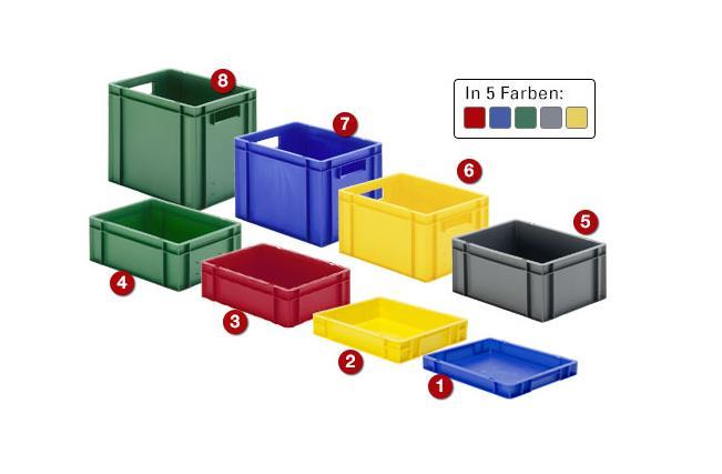 Kunststof transportbakken | DKMTools - DKM Tools