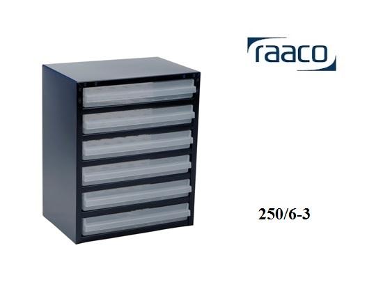 Raaco Raaco Kast met 6 laden 250 6 3 | DKMTools - DKM Tools