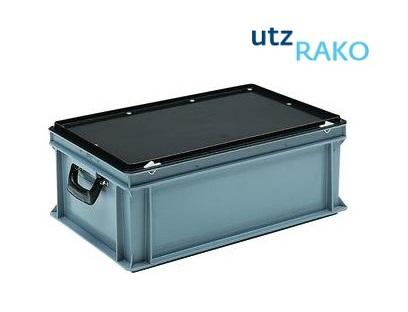 Rako Kunststof koffer met 2 handgrepen en slot   DKMTools - DKM Tools