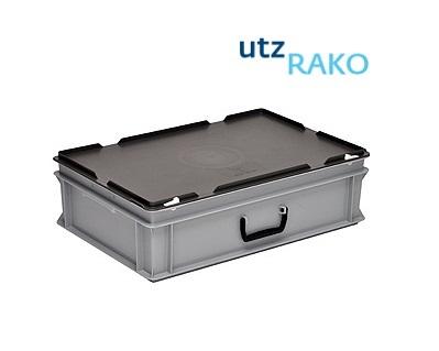 Rako Kunststof koffer met koffergreep en slot   DKMTools - DKM Tools