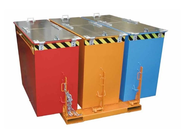 Kiepcontainers Bauer DUO TRIO   DKMTools - DKM Tools