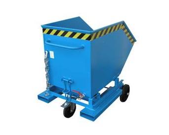 Spaander Containerwagen met zeef Bauer SKW | DKMTools - DKM Tools