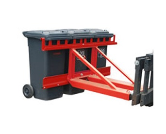 Afvalcontainer heffers Bauer MH | DKMTools - DKM Tools