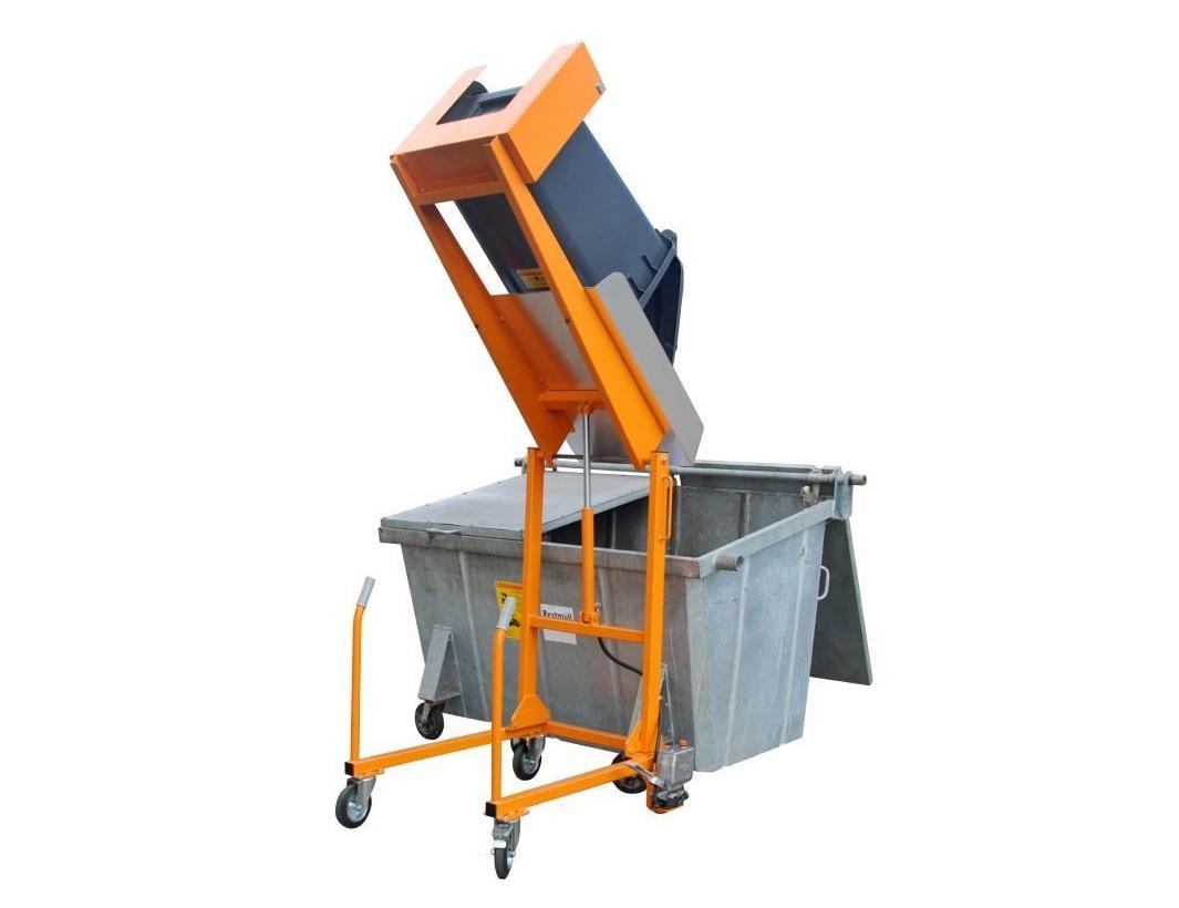 Afvalcontainer kiepstations Bauer MKS | DKMTools - DKM Tools