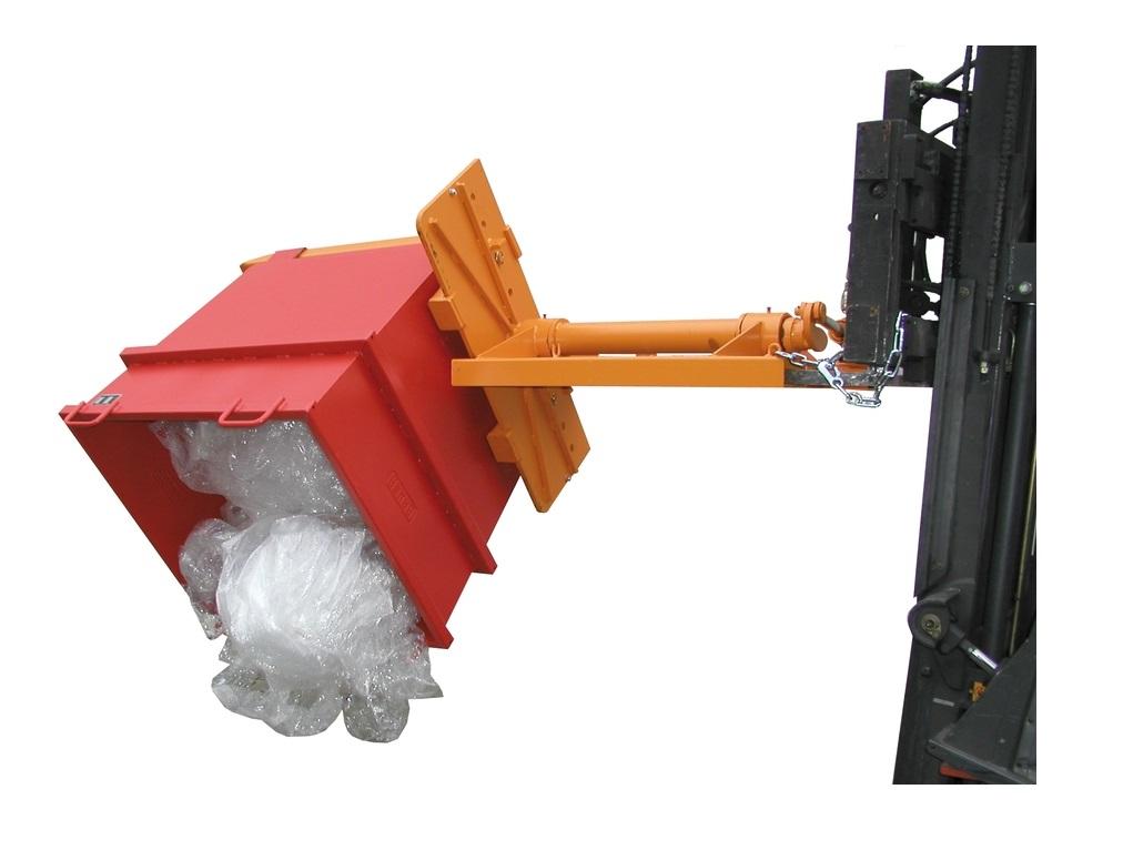 Kiepapparaat voor containers Bauer KGH | DKMTools - DKM Tools