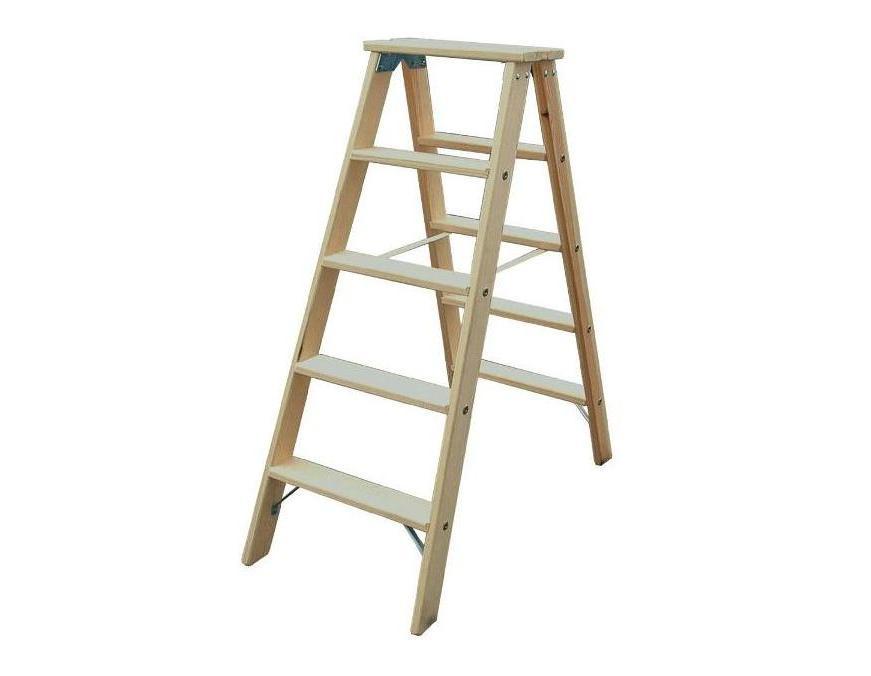 houten ladder koppen
