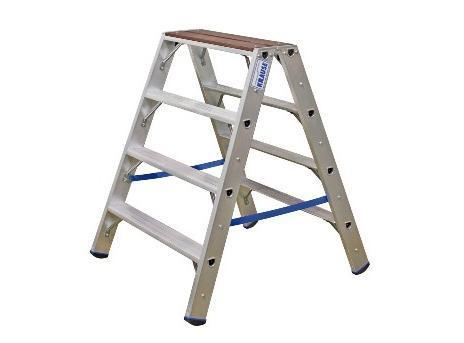 Boktrappen met hout platform STABILO | DKMTools - DKM Tools