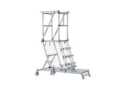 Zarges ZAP Platformtrappen hoogte verstelbaar | DKMTools - DKM Tools
