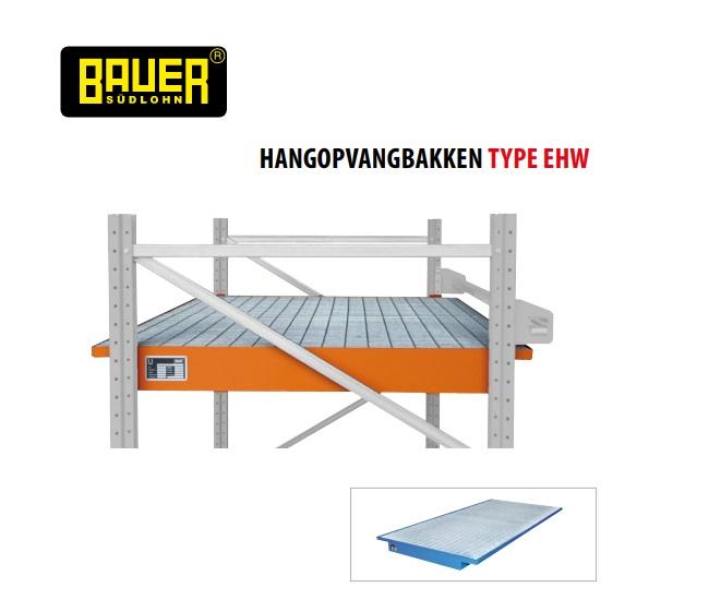 Hangopvangbak met rooster Bauer EHW | DKMTools - DKM Tools