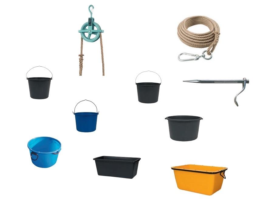 Bouwemmers speciekuipen | DKMTools - DKM Tools